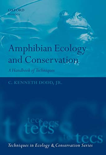 9780199541195: Amphibian Ecology and Conservation: A Handbook of Techniques (Techniques in Ecology & Conservation)