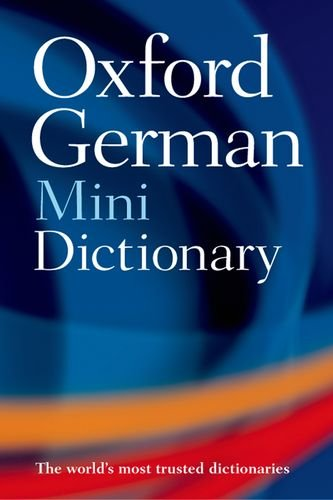 9780199541256: Oxford German Mini Dictionary: German-English/English-German