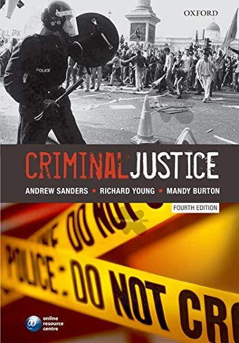 Criminal Justice (0199541310) by Andrew Sanders; Richard Young; Mandy Burton