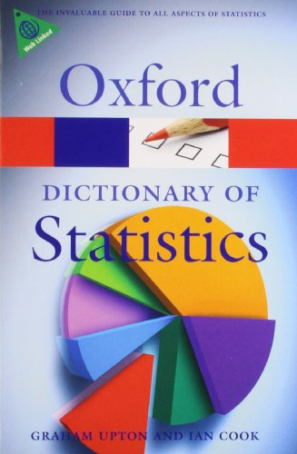 9780199541454: A Dictionary of Statistics (Oxford Quick Reference)