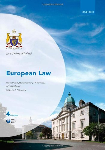 9780199541515: European Law (Law Society of Ireland Manual)