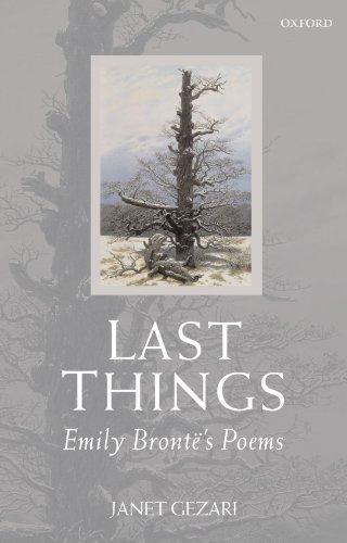 9780199543298: Last Things: Emily Brontë's Poems