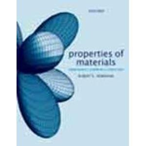 9780199543359: Properties Of Materials