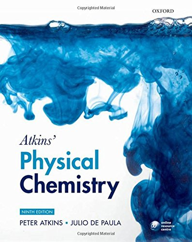 9780199543373: Atkins' Physical Chemistry