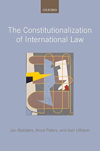 9780199543427: The Constitutionalization of International Law