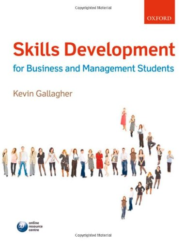 9780199543632: Skills Development for Business and Management Students