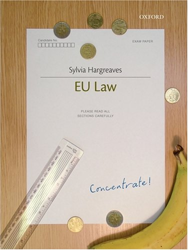 9780199544424: EU Law Concentrate