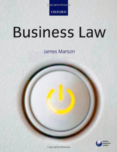 9780199544455: Business Law