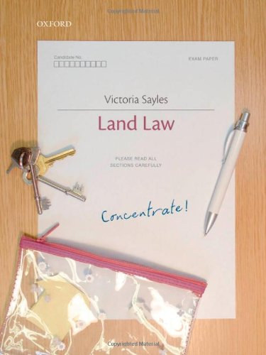 9780199544592: Land Law Concentrate