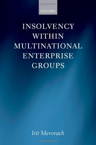 9780199544721: Insolvency within Multinational Enterprise Groups