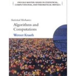 9780199545025: Statistical Mechanics: Algorithms and Computations