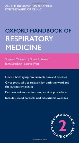 Oxford handbook respiratory medicine by stephen chapman abebooks oxford handbook of respiratory medicine oxford handbooks stephen chapman fandeluxe Images