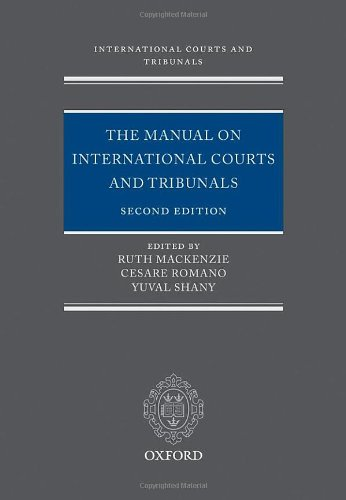 9780199545278: The Manual on International Courts and Tribunals
