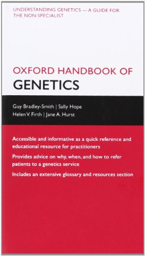 9780199545360: Oxford Handbook of Genetics (Oxford Medical Handbooks)