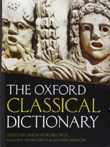 The Oxford Classical Dictionary.: HORNBLOWER, S. S.,