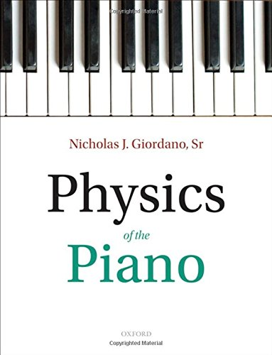9780199546022: Physics of the Piano