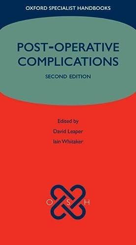 9780199546268: Post-operative Complications (Oxford Specialist Handbooks)