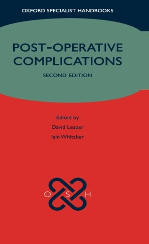 9780199546268: Post-operative Complications (Oxford Specialist Handbooks)