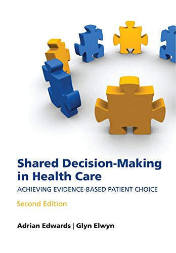9780199546275: Shared decision-making in health care: Achieving evidence-based patient choice