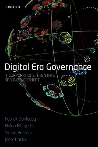 9780199547005: Digital Era Governance: IT Corporations, the State, and e-Government