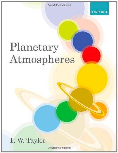 9780199547425: Planetary Atmospheres