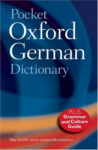 9780199547487: Pocket Oxford German Dictionary