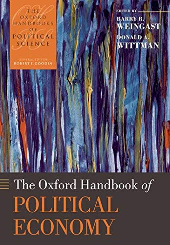 9780199548477: The Oxford Handbook of Political Economy (Oxford Handbooks of Political Science)
