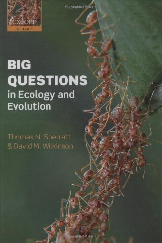 9780199548606: Big Questions in Ecology and Evolution (Oxford Biology)