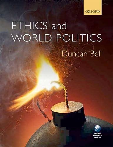 9780199548620: Ethics and World Politics