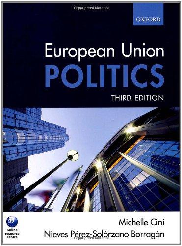 9780199548637: European Union Politics