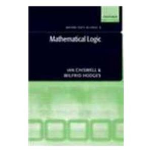 9780199548743: MATHEMATICAL LOGIC.