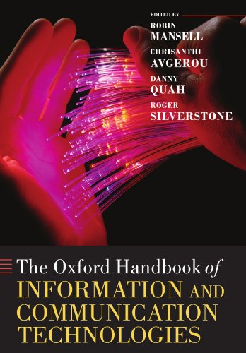 9780199548798: The Oxford Handbook of Information and Communication Technologies (Oxford Handbooks in Business and Management C)