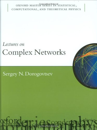 9780199548927: Lectures on Complex Networks (Oxford Master Series in Physics)