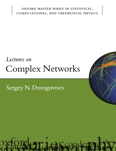 9780199548934: Lectures on Complex Networks (Oxford Master Series in Physics)