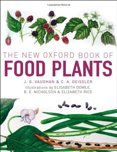 9780199549467: The New Oxford Book of Food Plants