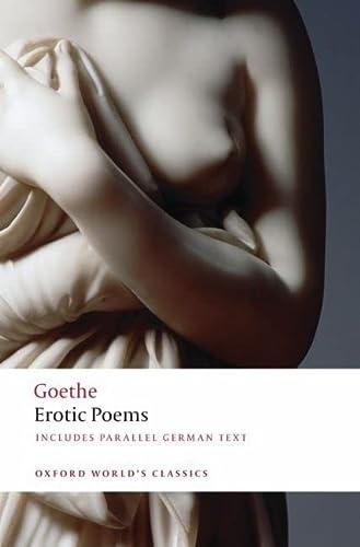 9780199549726: Erotic Poems (Oxford World's Classics)