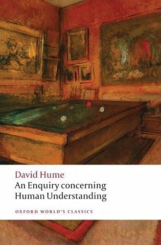 9780199549900: An Enquiry concerning Human Understanding
