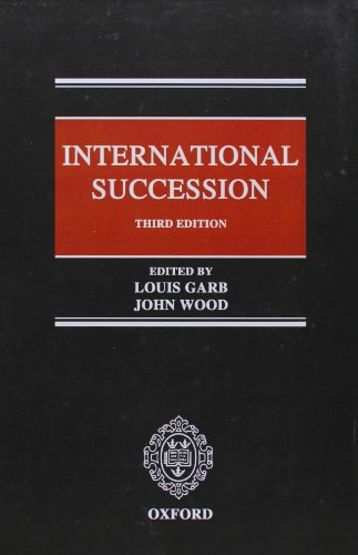 9780199550272: International Succession