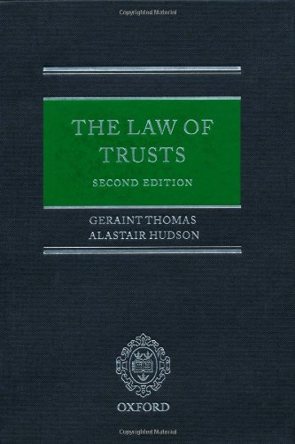 The Law of Trusts: Geraint Thomas