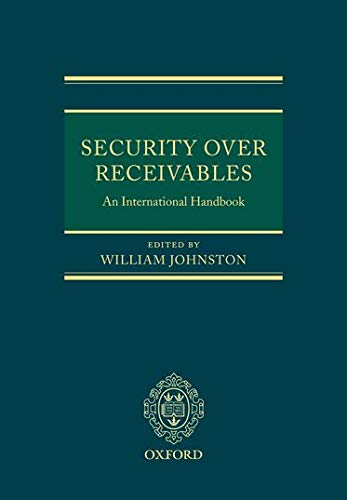 Security Over Receivables: An International Handbook (Hardback)