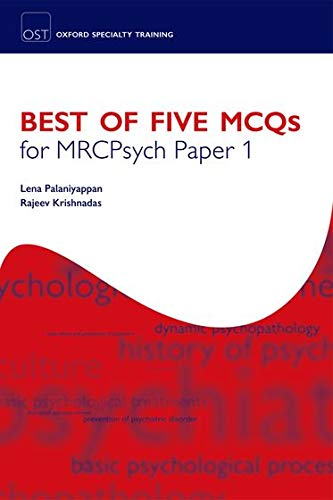 9780199550777: Best of Five MCQs for MRCPsych Paper 1 (Oxford Specialty Training)