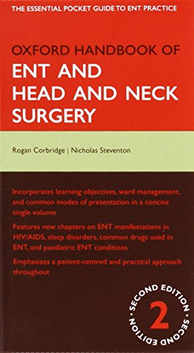 9780199550791: Oxford Handbook of ENT and Head and Neck Surgery (Oxford Medical Handbooks)