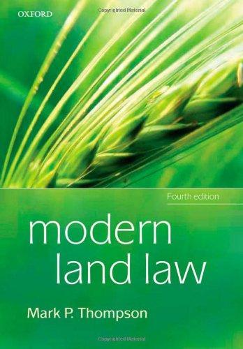9780199550814: Modern Land Law