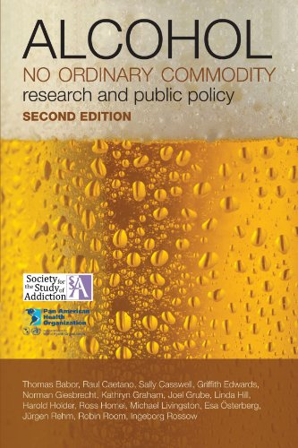 9780199551149: Alcohol: No Ordinary Commodity: Research and Public Policy