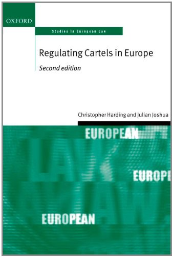 9780199551484: Regulating Cartels in Europe (Oxford Studies in European Law)