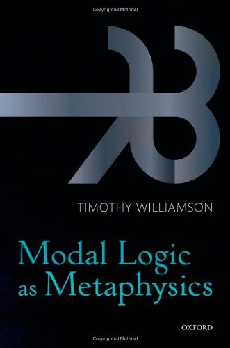 9780199552078: Modal Logic as Metaphysics