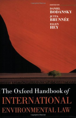 9780199552153: The Oxford Handbook of International Environmental Law (Oxford Handbooks in Law)