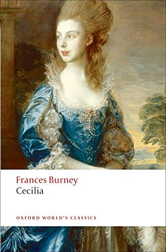 9780199552382: Cecilia, or Memoirs of an Heiress (Oxford World's Classics)