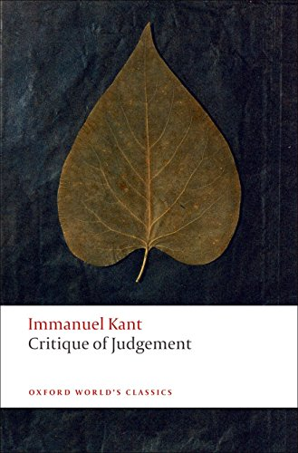 9780199552467: Critique of Judgement (Oxford World's Classics)
