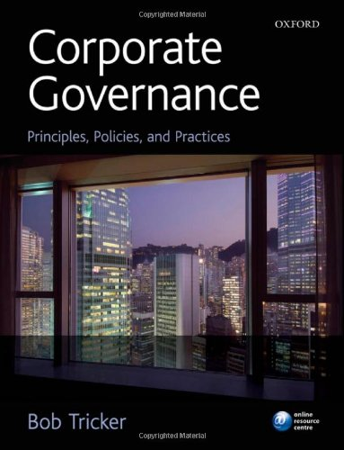 9780199552702: Corporate Governance: Principles, Policies and Practices